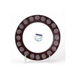 Тарелка обеденная 24,6см Luminarc Sirocco Brown H4785
