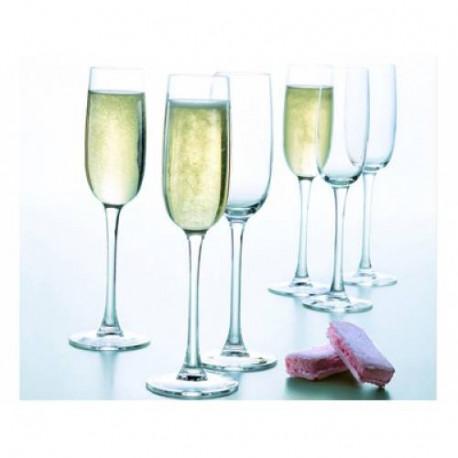 Набор бокалов для шампанского Luminarc Versailles 160мл-6шт G1484