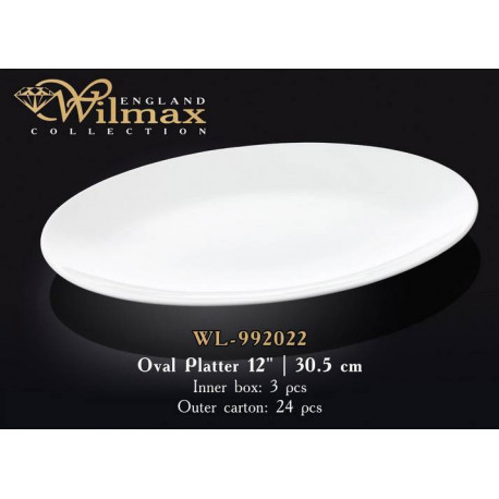 Wilmax Блюдо овальное 30,5см WL-992022