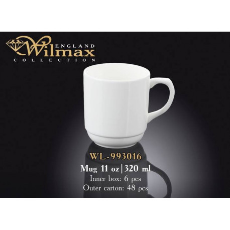 Кружка 320мл Wilmax  WL-993016