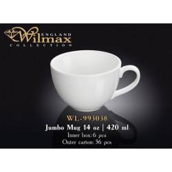 Кружка джамбо 420мл Wilmax WL-993038