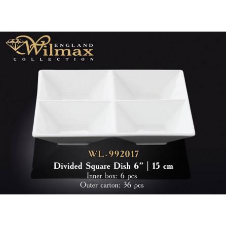 Wilmax Менажница квадратная 15см WL-992017