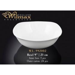 Салатник квадратный 21,5см Wilmax WL-992002