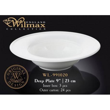 Тарелка глубокая 23см Wilmax WL-991020