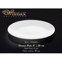 Тарелка десертная Wilmax 20см WL-991013