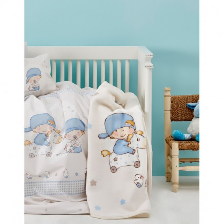 Постельное белье для младенцев Karaca Home ранфорс - Baby Boys 2017-1