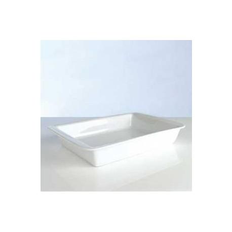 Форма для выпечки прямоугольная (38 см) фарфор Hotel Line 1690261
