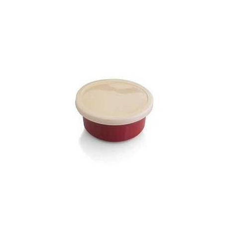 Набор форм для выпечки  BergHOFF 12 шт круглых 10,5х5 с пластиковыми крышками