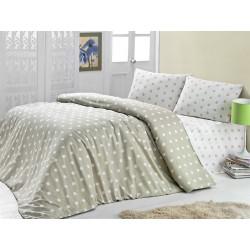 Комплект постельного белья полуторное LightHouse Round бежевый