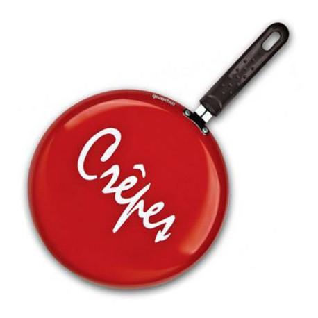 Сковорода блинная  26см Granchio красная  Crepe  88272