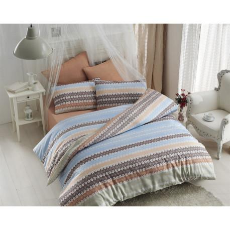 Комплект постельного белья евро LightHouse Canvas
