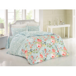 Комплект постельного белья семейное LightHouse ranforce Bouquet