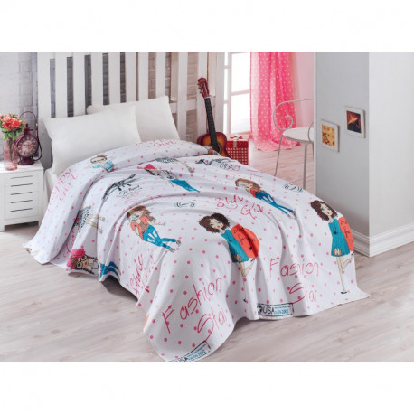 Постельное белье для подростков 160х220 Eponj Home - FashionGirl Pembe