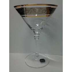 Бокалы для мартини Bohemia Olivia (43249) 210 мл-6шт