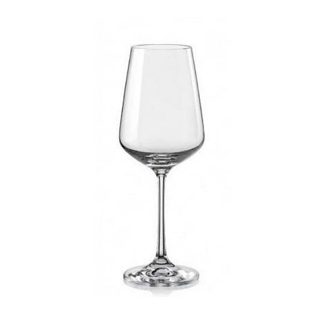 Бокалы для вина Bohemia Sandra 250 мл-6шт