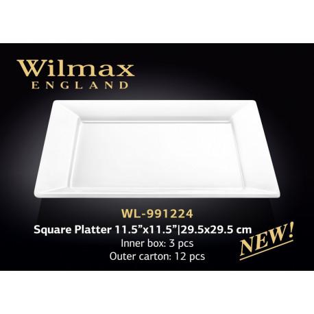 Wilmax Блюдо квадратное  29,5см  wl-991224