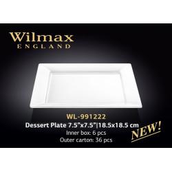 Тарелка десертная  18,5см Wilmax WL-991222