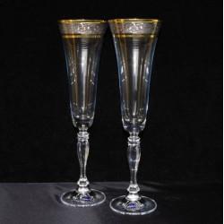 Бокалы для шампанского Bohemia Angela (43249) 190 мл-2 шт