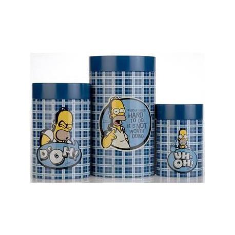 Набор банок BergHOFF Simpsons 3 шт (1500287)