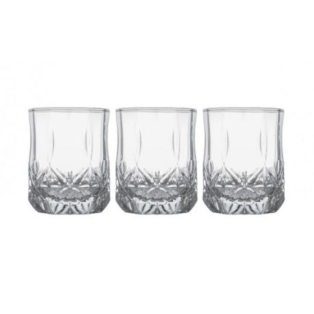Набор стаканов низких 270мл-3шт Luminarc Brighton N1956