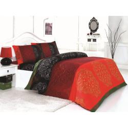 Комплект постельного белья евро LightHouse Frappe красный