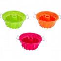 Набор форм для выпечки 8 шт круглых 14,5х6,5 с пластиковыми крышками Berghoff  1695099