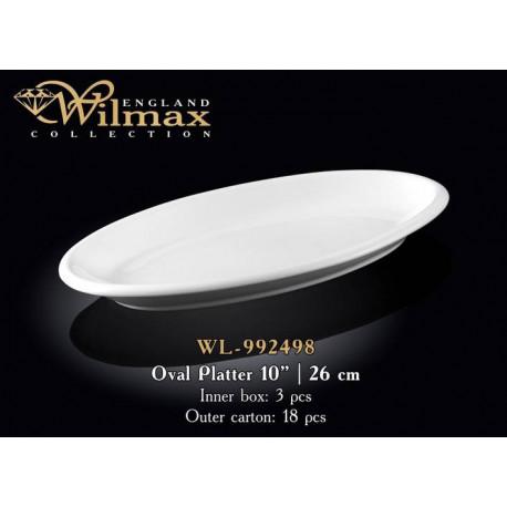 Wilmax Блюдо глубокое овальное 26см WL-992498