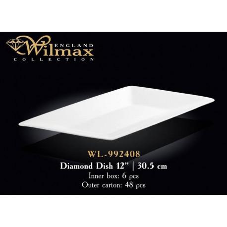 Wilmax Блюдо ромб 30,5см WL-992408