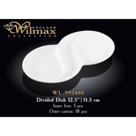 Wilmax Менажница фигурная 31,5см WL-992488