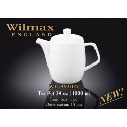 Wilmax Чайник заварочный 1000мл Color WL-994025/1C