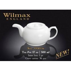 Wilmax Чайник заварочный 500мл.Color WL-994036