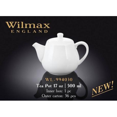 Чайник заварочный 500мл Wilmax Color WL-994030