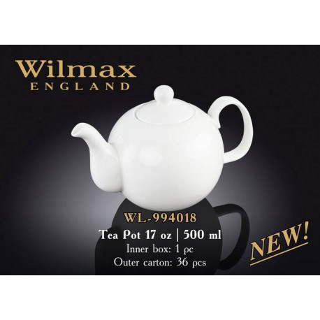 Wilmax Чайник заварочный 500мл.Color WL-994018/1C