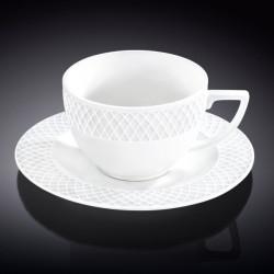 Чашка для капучино и блюдце 170мл Wilmax WL-880106-JV/AB