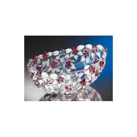 WG Carmen Satin-Rose Салатник овальний 270мм w1128