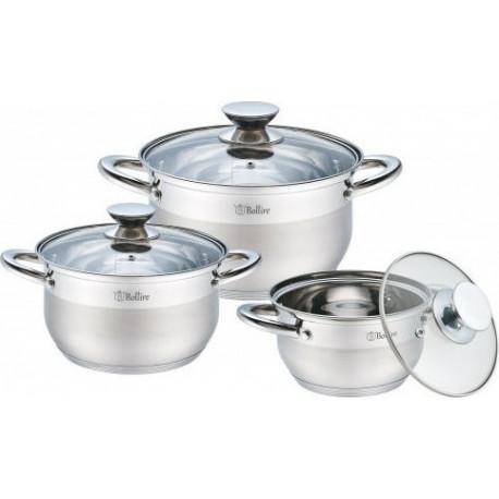 Набор посуды 6пр Bollire BR-4001