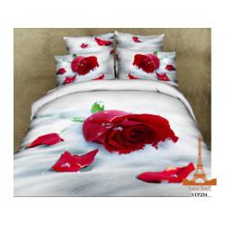 Постельное белье полуторное 3D Love you Верность stp 254