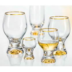 Набор бокалов для коньяка 6 шт - 340 мл Bohemia Gina (M8606)