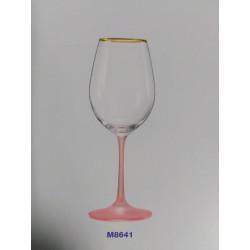 Набор бокалов для вина 350мл 6шт Bohemia Viola M8641
