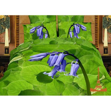 Постельное белье евро 3D Love you Перезвон ор 124