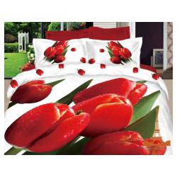 Постельное белье семейное 3D Love you Март stp 347