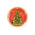 Тарелка обеденная 25см Luminarc Diwali Black P0867
