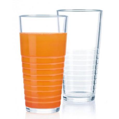 Набор стаканов 6шт 270мл Luminarc Rynglit N8019