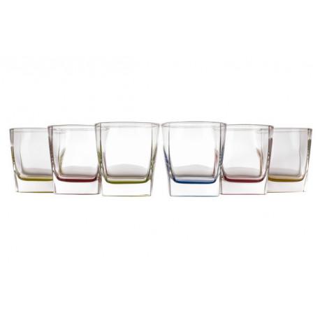 Набор стаканов низких 6шт 300мл Luminarc Bright Colors J8935/1