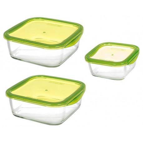 Набор емкостей для еды Luminarc Keep'n'box P0247