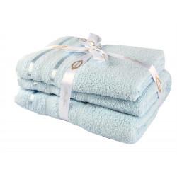 Полотенце махровое 1шт 100х150 Hobby - Nisa голубой
