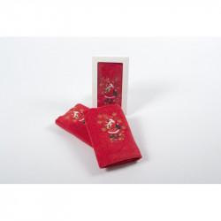 Полотенце махровое 30х50 Lotus - New Year 211