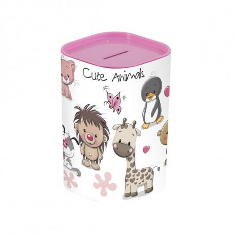 Копилка Herevin Money Box Animals Pink 161495-001