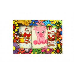 Набор полотенец махровых 3шт 40х60 IzziHome - Новый год №1