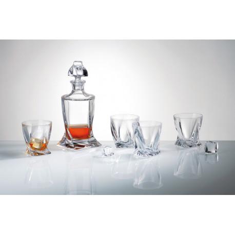 Набор для виски Bohemia Quadro 5 предметов